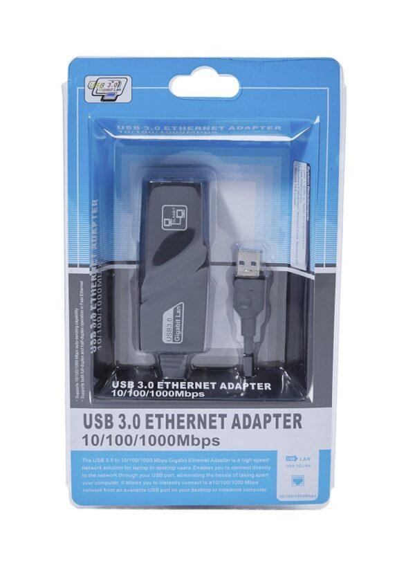Adaptador USB 3.0 a LAN GIGABIT