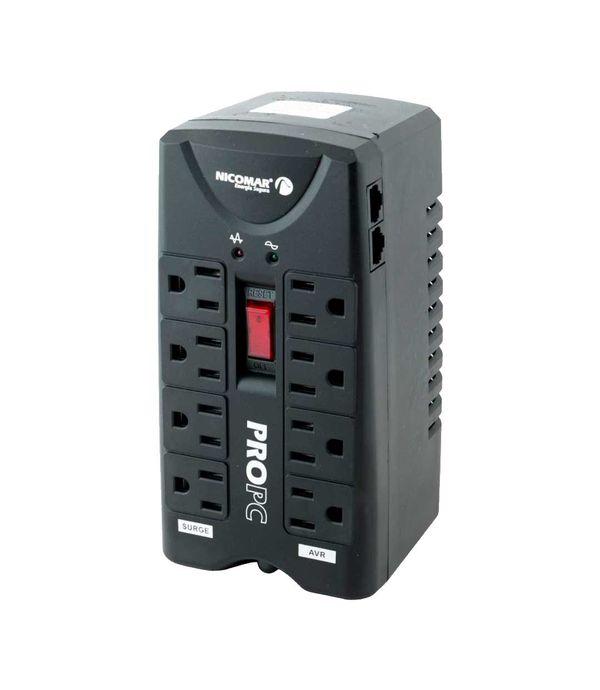Regulador Nicomar PROPC 1000 8Tom 600W