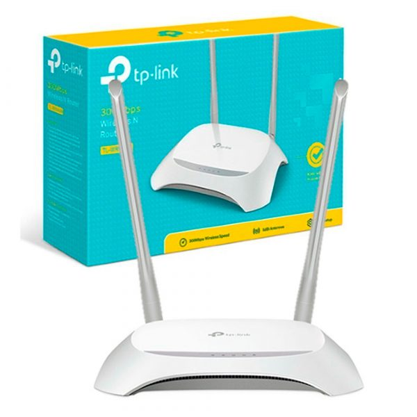 Router Tp-Link 2 Antenas Inalambrico TL-WR840N 300 Mbps