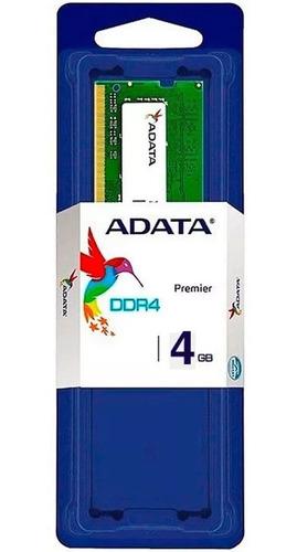 Memoria Ram DDR4 4Gb Adata 2400 Para Portatil