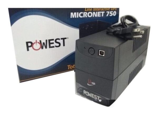 UPS-INTERACTIVA-POWEST-MICRONET-750