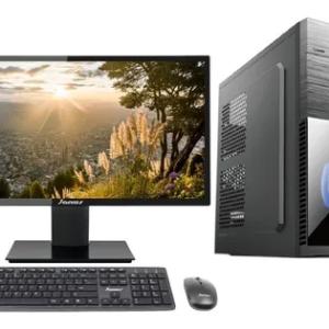 Pc Intel Core I3 10105 8GB Ram SSD 256GB 22 Pulg. + Adaptador Tenda Inalámbrico N150